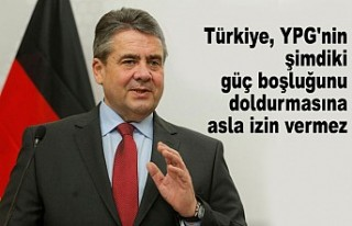 Eski Almanya Dışişleri Bakanı Gabriel'den...