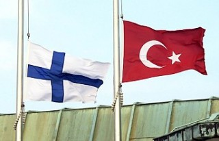 Finlandiya'daki Türkiye büyükelçiliğine...