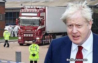 İngiltere Başbakanı, tırda bulunan 39 ceset için...