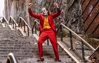 Joker filminde başrolün dans ettiği merdivenler...