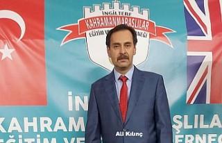 Kahramanmaraşlılar Derneği Ali Kılınç ile devam...