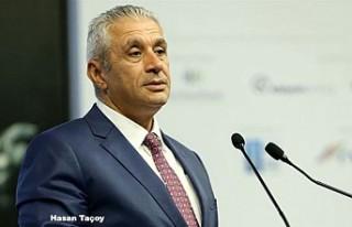 KKTC Ekonomi Bakanı Taçoy Londra'da