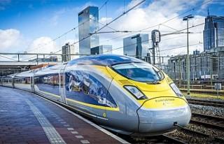 Amsterdam'dan Londra'ya Eurostar seferleri...