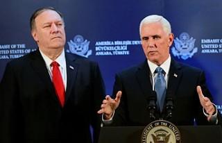 Mike Pence'den Ankara'da, 'Suriye İçin...