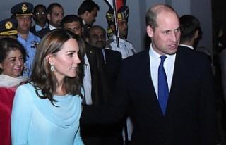 Prens William ve Kate Middleton Pakistan'da