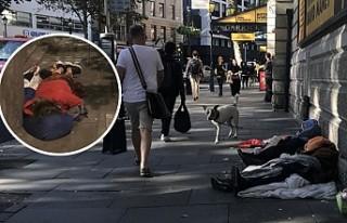 Sokakta ölen evsizlerde korkutan artış