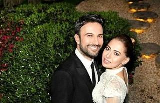 Tarkan'ın eşi Pınar Tevetoğlu, gazetecileri...