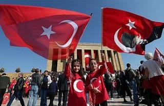 Türkiye Cumhuriyeti 96 yaşında