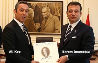 Ali Koç'tan, Ekrem İmamoğlu'na ziyaret