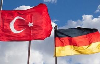 Almanya'nın Ankara Büyükelçiliği'nde...
