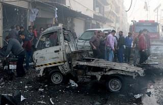 Bab'da sivillere bombalı terör saldırısı