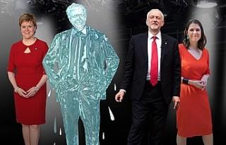 Başbakan televizyon programında eriyen buz blokuyla...