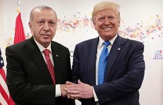 Donald Trump'dan Erdoğan açıklaması!