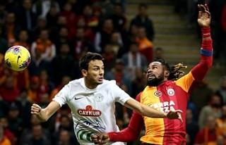 Galatasaray, Rize karşısında 3 puanın sahibi oldu