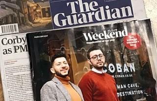 Mahmut ve Yalçın Çoban, Guardian'ın Kapağında
