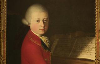 Mozart'ın çocukluk portesi 4 milyon avroya...
