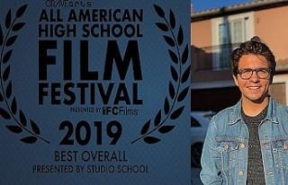Türk genç, ABD'de en iyi film ödülü kazandı
