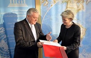 UNESCO Genel Konferans Başkanlığına 53 yıl sonra...