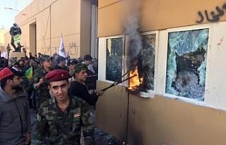 ABD'nin Bağdat Büyükelçiliğine İşgal Girişimi