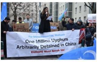 Uygur Türklerine yönelik hak ihlalleri Viyana'da...