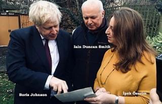 Boris Johnson'ı heyecanlandıran fotoğraf!