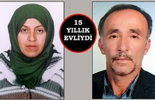 Bir kadın eşini bıçak ve satırla öldürdü