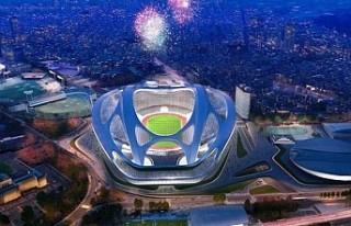 Japonya Ulusal Stadı, törenle açıldı