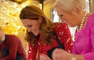 Kate Middleton'ın, yayın sırasında yaptığı...