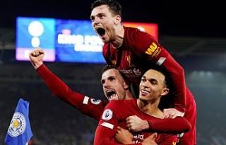 Liverpool, Leicester City deplasmanında galibiyeti...