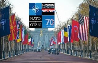 NATO liderleri ittifakın 70. yılında Londra'da...