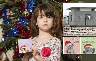 """Noel kartındaki """"Çin İşkencesi"""" notu..."""