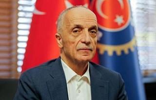 Türk-İş Genel Başkanlığına Ergün Atalay yeniden...