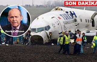 Amsterdam'da düşen THY uçağı ile ilgili...