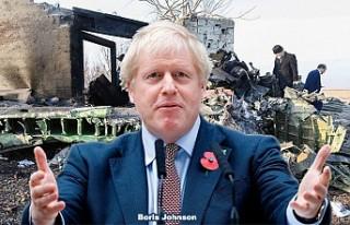 İngiliz Başbakan Düşen Uçak İçin İran'ı...