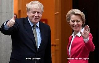 """İngiltere ile AB arasında """"olumlu"""" görüşme"""