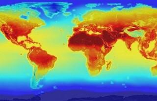 Küresel ısınma son 10 yılda en yüksek düzeye...