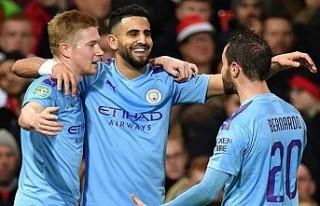Manchester'de, 'City' Kupa'nın...