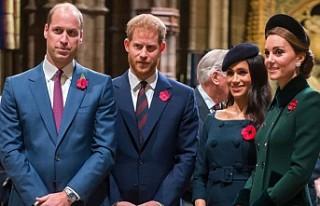 Prens William, Harry ve Meghan Markle'nın ayrılık...
