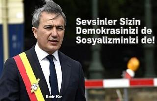Türk Kökenli Belediye Başkanı Emir Kır Sosyalist...