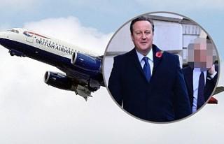 Başbakanın koruması silahını uçak tuvaletinde...