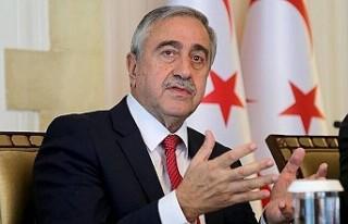Guardian'a konuşan Mustafa Akıncı, Türkiye'ye...