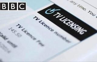 İngiltere'de 'TV licence' ücretleri...