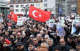 Irkçılık Almanya'nın Hanau kentinde protesto...