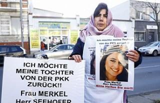 Kızı PKK Tarafından Kaçırılan Anne Almanya'da...