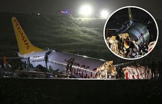 Pegasus'tan pistten çıkan uçak açıklaması