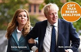 Boris Johnson ile Carrie Symonds Nişanlandı