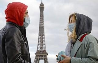Fransa'da 24 saatte 112 kişi daha hayatını...