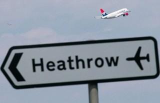 İngiltere'de Koronavirüs nedeniyle uçaklar...
