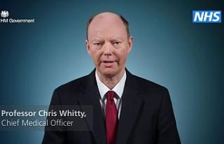 İngiltere Sağlık Direktörü Whitty Kovid-19 nedeniyle...
