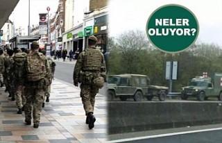 İngiltere'de Asker Sokakta!